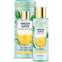Bielenda Fresh Juice Bőrszínjavító hatású hydro esszencia - Ananász
