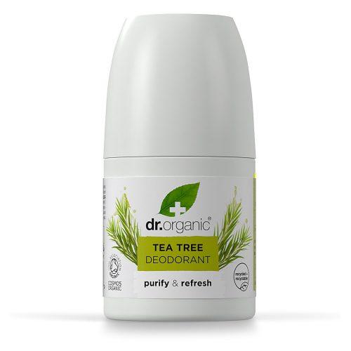 Dr. Organic Bio Teafaolaj golyós dezodor 50ml