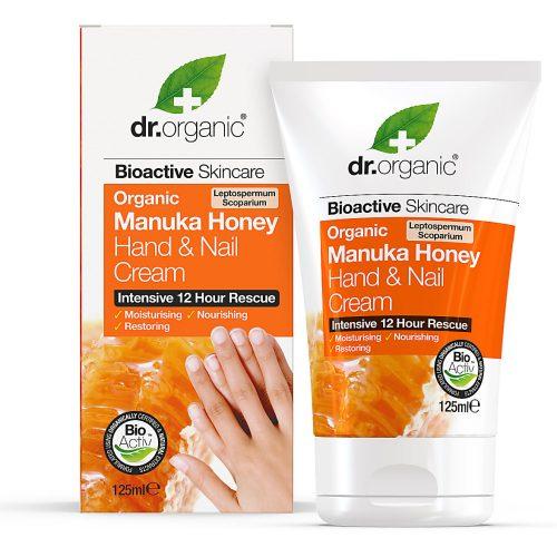 Dr. Organic Bio Manuka méz kéz- és körömápoló 125ml