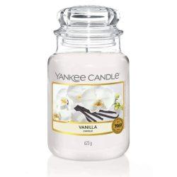 Yankee Candle Vanilla nagy üveggyertya