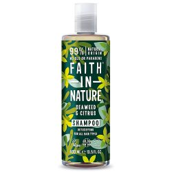 Faith in Nature Bio tengeri hínár sampon