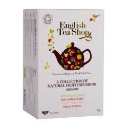 English Tea Shop 20 filteres gyümölcstea kollekció