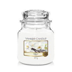 Yankee Candle Vanilla közepes üveggyertya
