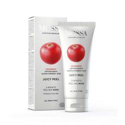 MOSSA Juicy Peel bőrtökéletesítő peeling maszk
