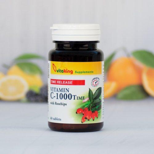 VitaKing C vitamin 1000 mg - nyújtott felszivódás