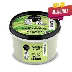 Organic Shop Provance-i citromfű cukros testradír 250ml