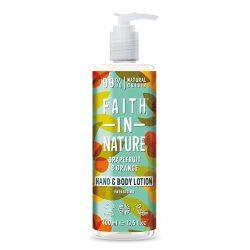 Faith in Nature Kókusz kézkrém bio kókusz olajjal